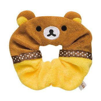 San-X 拉拉熊我愛生活系列柔軟髮圈束帶 懶熊