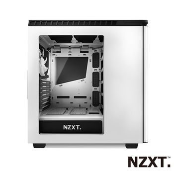 NZXT H440 靜音系列 電腦機殼(白色)