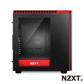 NZXT H440 靜音系列 電腦機殼(黑紅)