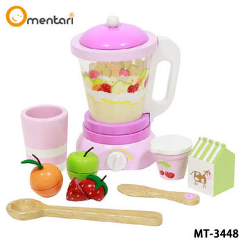 Mentari 安全無毒玩具家家酒系列 甜蜜活力果汁機(3種水果+攪拌棒)
