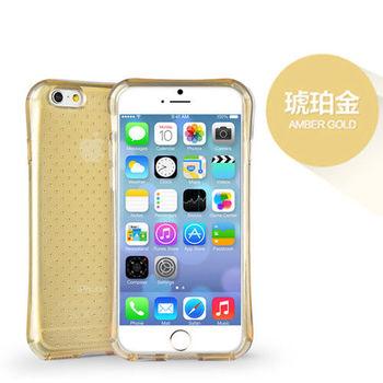 iPhone 6/6s Plus 5.5吋 透氣星點氣囊防摔TPU保護套_金色