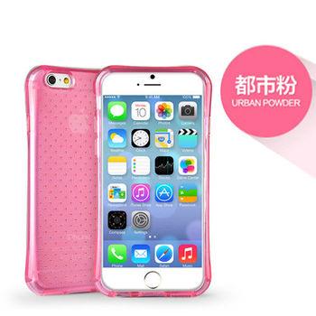 iPhone 6/6s Plus 5.5吋 透氣星點氣囊防摔TPU保護套_粉色