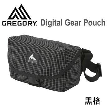 【美國Gregory】Digital Gear Pouch日系單眼相機側背包-黑格