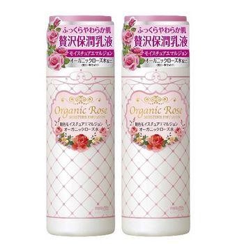 日本明色Organic Rose彈力潤澤乳液145ml-二入組