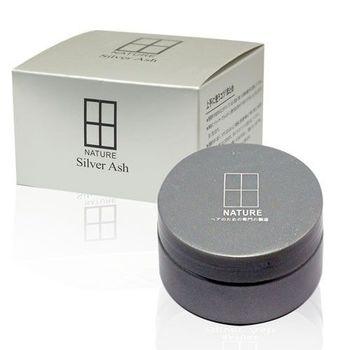 日本 Silver Ash 野爺灰髮蠟 100g 銀灰變色髮臘/奶奶灰