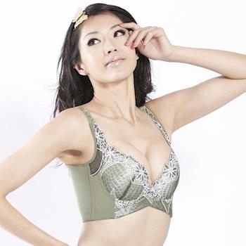 最晶品深V塑形鋼圈蠶絲胸罩(四入)