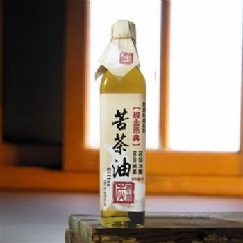 《炭道健康》冷壓苦茶油6入(210ml/入)