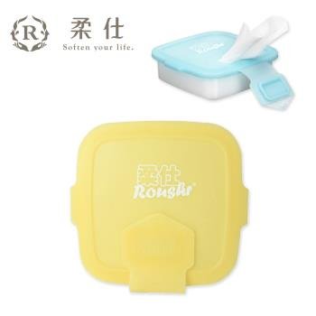 【BabyTiger虎兒寶】Roushr柔仕 矽膠抽取盒 + 乾濕兩用布巾(20片) - 三色