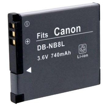 Kamera 鋰電池 for Canon NB-8L(DB-NB8L)
