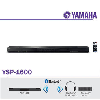 山葉 YAMAHA YSP-1600 5.1聲道無線家庭劇院SoundBar 內建藍牙WiFi