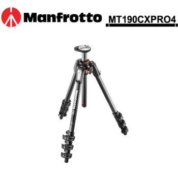 Manfrotto 曼富圖 MT190CXPRO4 新190系列碳纖維四節腳架