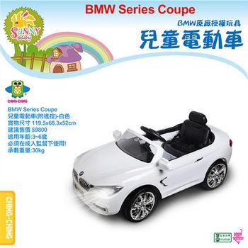 【親親】BMW遙控電動車-白