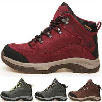 (預購)【JHS杰恆社】HP8206高幫登山鞋男女款防水保暖冰面防滑徒步鞋(HOTPOTATO)