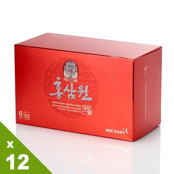 【韓國正官庄】高麗蔘源禮盒附提袋12入分享組( 3倍加強版 )