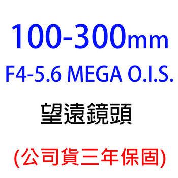 Panasonic Lumix G 100-300mm F4-5.6 MEGA O.I.S.(100-300,台灣松下公司貨)