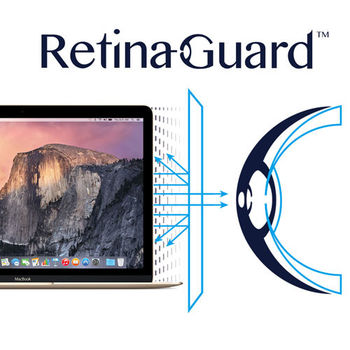 RetinaGuard 視網盾 Apple New Macbook 12吋 眼睛防護 防藍光保護膜