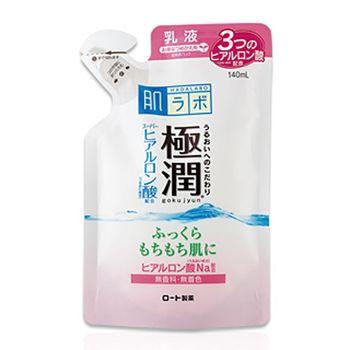 樂敦 肌研 ROHTO 極潤乳液 補充包 (140ml)