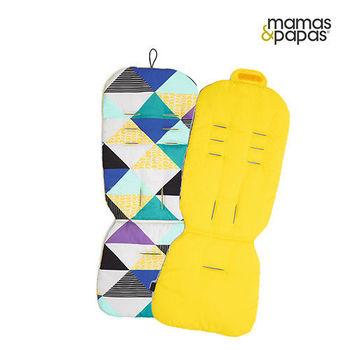 【Mamas Papas】雙面推車座墊-香蕉金字塔