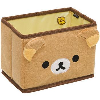 San-X 拉拉熊滿滿懶熊生活系列迷你毛絨收納盒 懶熊
