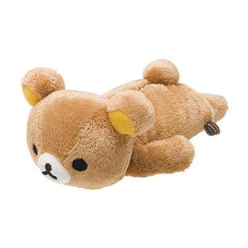 San-X 拉拉熊滿滿懶熊生活系列趴趴長毛絨小公仔 (S) 懶熊