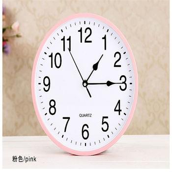 客廳現代創意靜音圓形個性時尚簡約時鐘