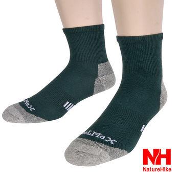 Naturehike 舒適型戶外機能襪 健行襪 登山襪 男款(深綠)