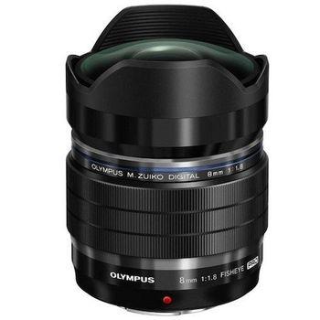 M.ZUIKO DIGITAL ED 8mm F1.8 Fisheye PRO 魚眼鏡 (公司貨)@
