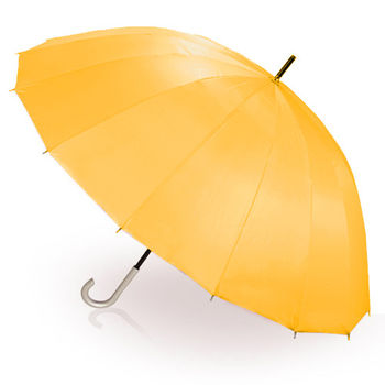 【2mm】日本樂天第一名正16骨無敵傘(黃色)