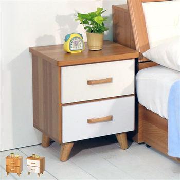 【時尚屋】[WG5]柏德2抽床頭櫃1WG5-3W