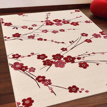 【Ambience】比利時infinity 現代地毯 -梅花 (133x195cm)
