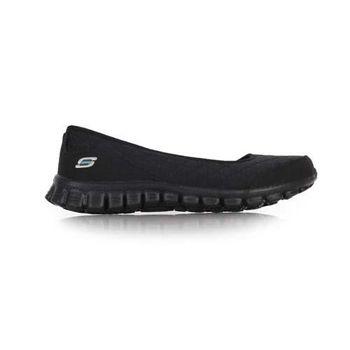 【SKECHERS】女休閒健走鞋 EZ FLEX 2-SPRUCED-UP 黑淺藍