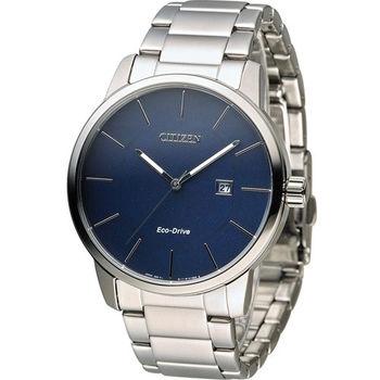 星辰 CITIZEN Eco Drive 光動能質感穩重時尚腕錶 BM6960-56L
