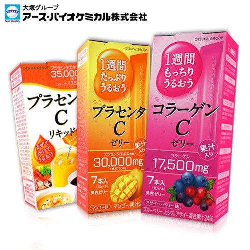 【日本大塚集團】大塚美C凍/飲-綜合莓7入/芒果7入/原味7入