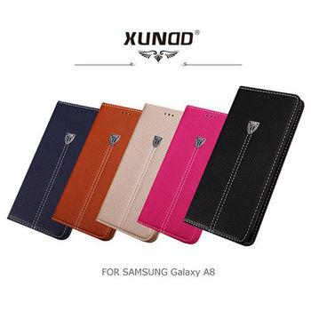 【XUNDD】SAMSUNG Galaxy A8 貴族可立皮套