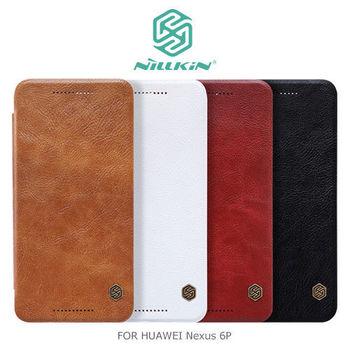 【NILLKIN】HUAWEI Nexus 6P 秦系列側翻皮套