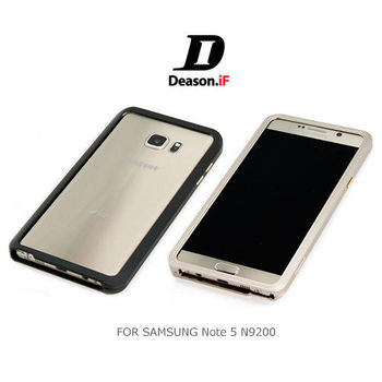 【Deason.iF】SAMSUNG Galaxy Note 5 N9200 / N9208 磁扣邊框