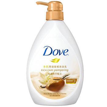多芬 豐盈寵愛沐浴乳-乳木果與暖香草(750ml)