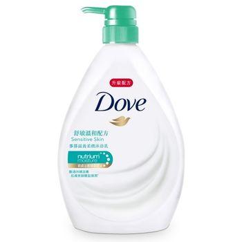 多芬 滋養柔膚沐浴乳-舒敏溫和配方(1000g)