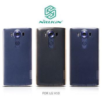 【NILLKIN】LG V10 本色TPU軟套
