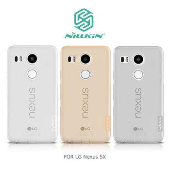 【NILLKIN】LG Nexus 5X 本色TPU軟套