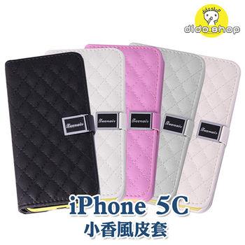 【dido shop】APPLE iPhone 5C 掀蓋式小香風手機皮套 手機殼 矽膠殼 XN004