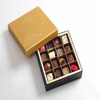 【VALRHONA】夾心巧克力濃情禮盒-16入裝