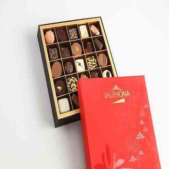 【VALRHONA】夾心巧克力濃情禮盒-25入裝