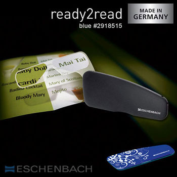 【德國 Eschenbach 宜視寶】ready2read 150度 德國製隨身型老花眼鏡 沉穩藍