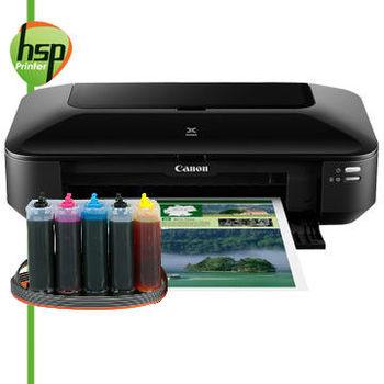 【HSP連續供墨系統】CANON IX6770【單向閥+黑色防水】A3+ 五色 噴墨相片印表機