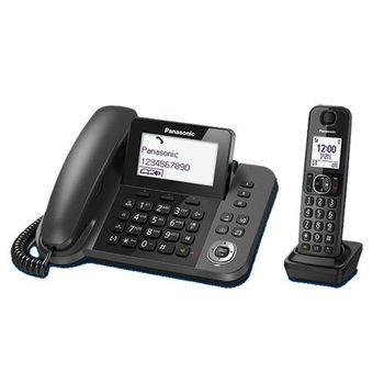 【國際牌PANASONIC】子母雙機數位無線電話 KX-TGF310