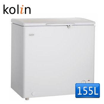 【歌林 Kolin】155L臥式冷凍冰櫃KR-EL115F01-W(含拆箱定位)