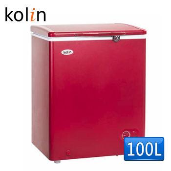 【歌林 Kolin】100L臥式冷凍冰櫃KR-EL110F01-R(含拆箱定位)