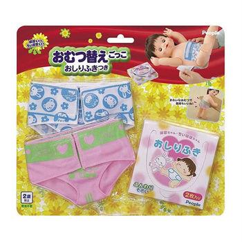 【日本POPO-CHAN】超逼真尿布組合玩具 AI287