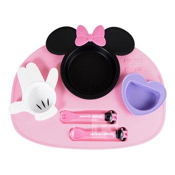 Disney造型幼兒餐具組-米妮